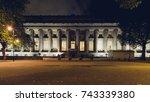 north facade of the british... | Shutterstock . vector #743339380