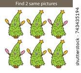 vector illustration of kids...   Shutterstock .eps vector #743435194