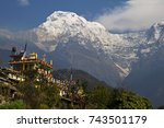 Buddhist Monastery In The...