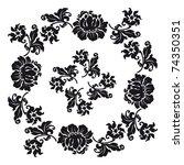 seamless ornament floral   Shutterstock . vector #74350351