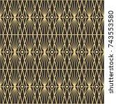 vector modern tiles pattern....   Shutterstock .eps vector #743553580