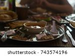 indian food | Shutterstock . vector #743574196
