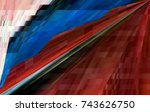 graphic background image. | Shutterstock . vector #743626750