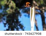 thessaloniki  greece  oct 27 ... | Shutterstock . vector #743627908