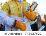 thessaloniki  greece  oct 27 ... | Shutterstock . vector #743627920