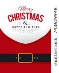 santa claus. vector ...   Shutterstock .eps vector #743629948