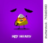 Funny Candy Corn With...
