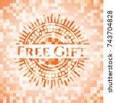 free gift abstract emblem ...