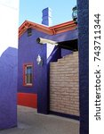 Small photo of Colorful Adobe House in Historic District of Downtown Tucson Arizona