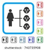 nursery kids relations icon....   Shutterstock .eps vector #743735908