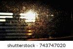 dust  | Shutterstock . vector #743747020