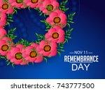 vector illustration of a banner ... | Shutterstock .eps vector #743777500