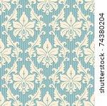 Floral Wallpaper Pattern Light...