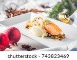 Christmas Food With Salmon...