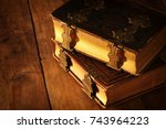 Image Of Antique Books  With...
