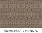 wood plank old texture wall...   Shutterstock . vector #744020776