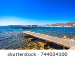 view of bodrum  turkey | Shutterstock . vector #744024100