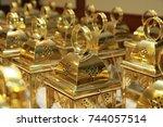 lantern | Shutterstock . vector #744057514
