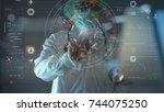 medical technology concept...