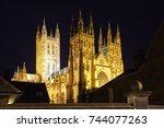 Facade Of Canterbury Cathedral...