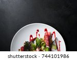 food photography creative... | Shutterstock . vector #744101986
