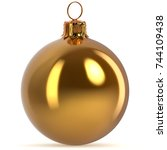 Golden Christmas Ball...