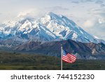 Mount Mckinley With American...