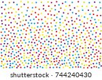 background with irregular ... | Shutterstock .eps vector #744240430
