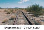 Abandoned Railroad In California