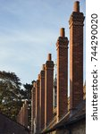 Small photo of Tall Chimneys, Long Alley Almshouse, St Helens, Abingdon; Oxfordshire Built 1446