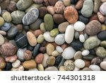 small colorful pebbles