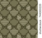 Seamless Ceramic Tile With...