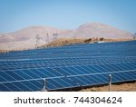 solar panels in turkey | Shutterstock . vector #744304624