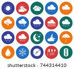 modern line style icons set ... | Shutterstock . vector #744314410