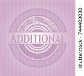additional retro pink emblem