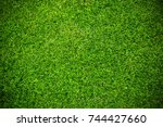 Green Grass Background Vignett...