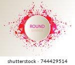 special round offer.vintage...   Shutterstock .eps vector #744429514