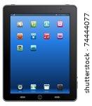 tablet computer   mobile phone  ... | Shutterstock .eps vector #74444077
