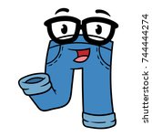 Cartoon Smarty Pants Character