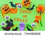 Halloween Pumpkin With Sweets...