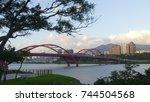 new taipei city people's... | Shutterstock . vector #744504568
