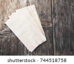 tissues paper | Shutterstock . vector #744518758