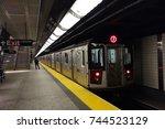 new york   october 26  2017 ... | Shutterstock . vector #744523129