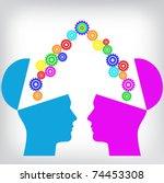 human consensus   Shutterstock .eps vector #74453308