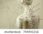 Female Acupuncture Model With...