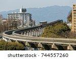senri chuou  suita  japan ...   Shutterstock . vector #744557260