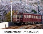 minami senri  suita  japan ...   Shutterstock . vector #744557314