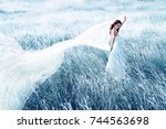 Bride  Wedding Outdoor Portrai...