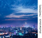China's Shenzhen City In The...