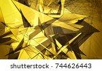 gold beautiful illustration... | Shutterstock . vector #744626443